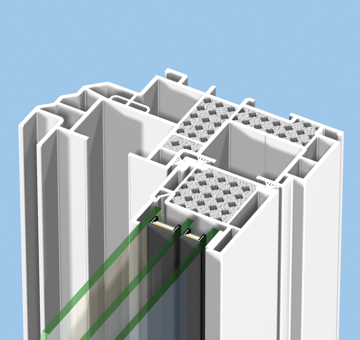 Cellular pvc window construction and technology - Additional Images Energycore Window System