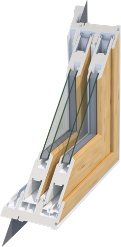 MikronWood® 1700 Sliding Patio Door System