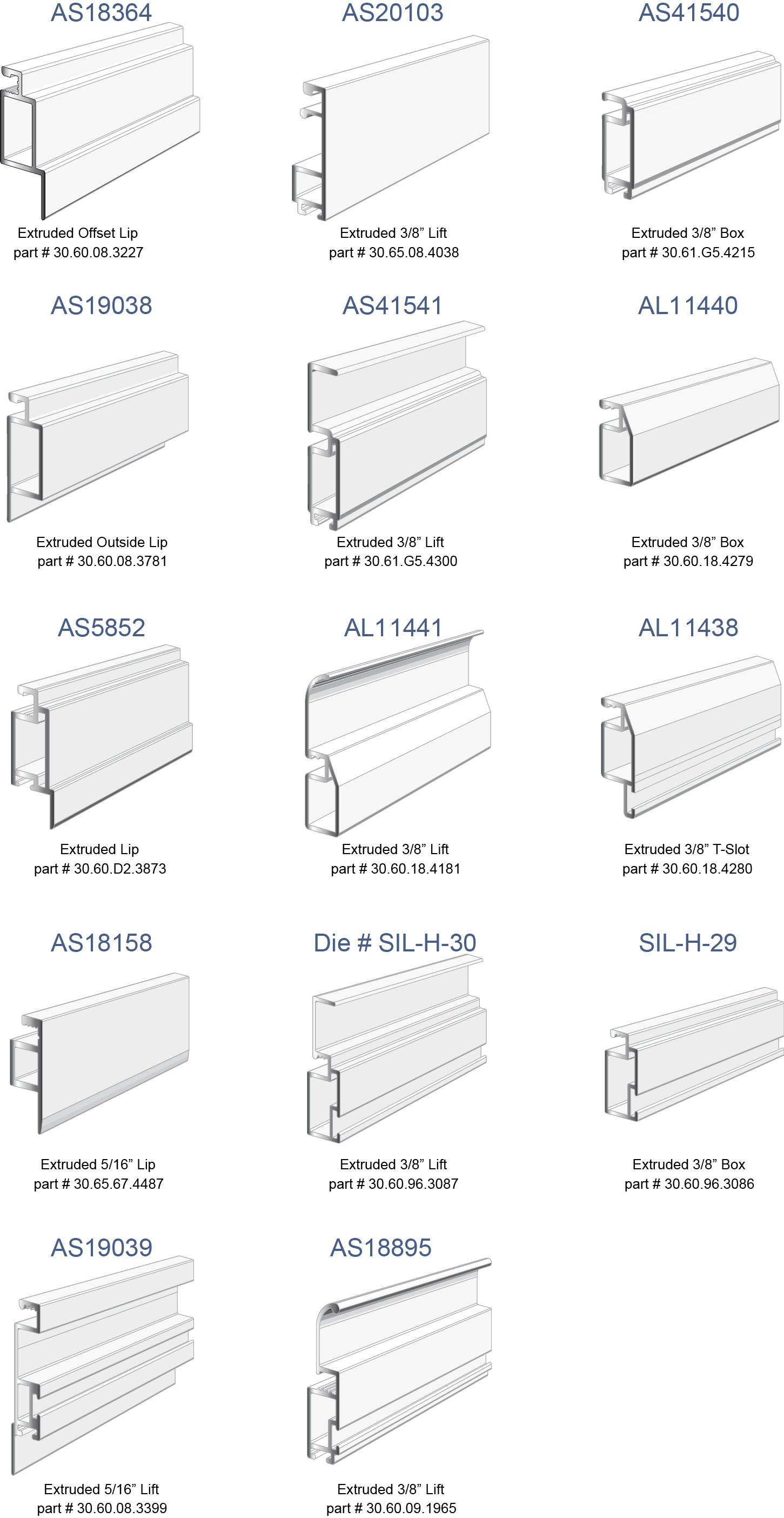 Extruded Screen Frame Profiles Quanex Building Products
